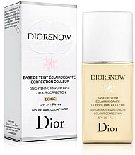 Парфюмерия и Козметика Озаряваща основа за грим - Dior Brightening Makeup Base Colour Correction SPF35 PA+++