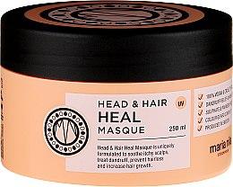 Парфюмерия и Козметика Маска против пърхот - Maria Nila Head & Hair Heal Masque