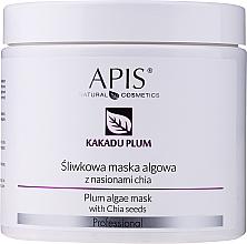 Парфюмерия и Козметика Маска за лице с екстракт от слива и чия - APIS Professional Kakadu Plum Cream