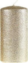 Парфюми, Парфюмерия, козметика Декоративна свещ, златиста, 7х10см - Artman Glamour