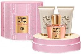 Парфюми, Парфюмерия, козметика Acqua di Parma Rosa Nobile - Комплект (парф. вода/50ml + душ гел/50ml + крем за тяло/50ml)