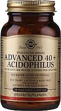 Парфюмерия и Козметика Хранителна добавка за чревна микрофлора, на капсули - Solgar Advanced 40+ Acidophilus