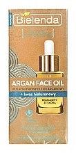 Парфюми, Парфюмерия, козметика Подобрено арганово масло + хиалуронова киселина - Bielenda Argan Face Oil