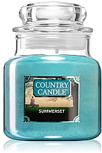 Парфюми, Парфюмерия, козметика Ароматна свещ в бурканче - Country Candle Summerset