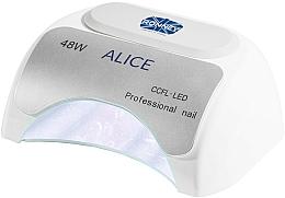 Лампа CCFL+LED за нокти, бяла - Ronney Profesional Alice Nail CCFL+LED 48w (GY-LCL-015D) Lamp — снимка N2
