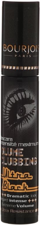 Bourjois Volume Clubbing Ultra Black - Спирала за мигли  — снимка N1