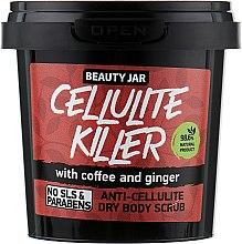"""Парфюмерия и Козметика Антицелулитен скраб за тяло """"Cellulite Killer"""" - Beauty Jar Anti-Cellulite Dry Body Scrub"""