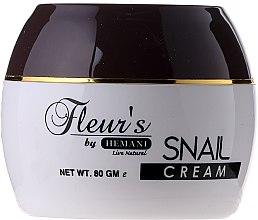 Парфюми, Парфюмерия, козметика Подмладяващ крем за лице - Hemani Fleur's Snail Cream
