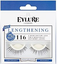 Парфюмерия и Козметика Изкуствени мигли №116 - Eylure Pre-Glued Lengthening