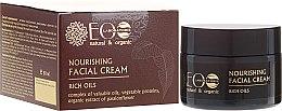 "Парфюми, Парфюмерия, козметика Подхранващ крем за лице ""Луксозни масла"" - ECO Laboratorie Face Cream"