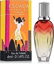 Парфюмерия и Козметика Escada Rockin Rio Limited Edition - Тоалетна вода (мини)