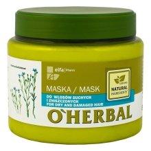 Парфюмерия и Козметика Маска за суха и изтощена коса - O'Herbal