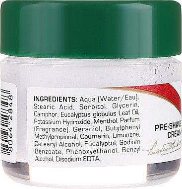 Крем за бръснене с екстракт от евкалипт и ментол - Proraso Green Line Pre-Shaving Cream (мини) — снимка N2