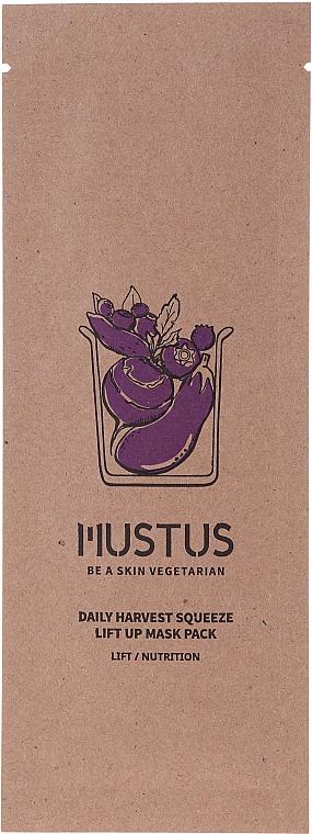 Лифтинг маска за лице - Mustus Daily Harvest Squeeze Lift Up Mask — снимка N1