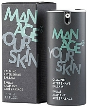 Парфюмерия и Козметика Успокояващ балсам след бръснене - Dr. Spiller Manage Your Skin Calming After Shave Balsam