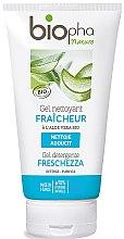 Парфюмерия и Козметика Почистващ гел за лице с алое - Biopha Nature Gel Detergente Freschezza
