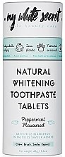 Парфюмерия и Козметика Избелваща паста за зъби - My White Secret Natural Whitening Toothpaste Tablets