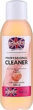 """Парфюмерия и Козметика Обезмаслител за нокти """"Пъпеш"""" - Ronney Professional Nail Cleaner Melon"""