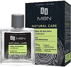 Парфюмерия и Козметика Лосион за след бръснене - AA Men Natural Care Sooting After-Shave Lotion