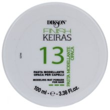 Парфюмерия и Козметика Матова паста за моделиране на косата - Dikson Finish Keiras Pasta Modellante Opaca 13