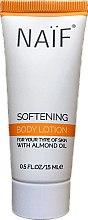 Парфюмерия и Козметика Лосион за тяло с бадемово масло - Naif Softening Body Lotion (мини)