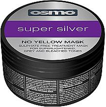 Парфюмерия и Козметика Маска за коса срещу жълти оттенъци - Osmo Super Silver No Yellow Mask