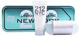 Парфюми, Парфюмерия, козметика Carolina Herrera 212 NYC Gift Set - Комплект (тоал. вода/100ml + лосион за тяло/100ml)