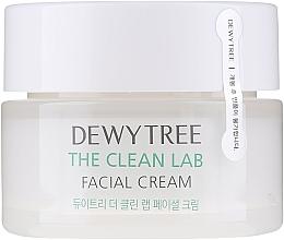 Парфюмерия и Козметика Крем за лице с церамиди и хиалуронова киселина - Dewytree The Clean Lab Facial Cream