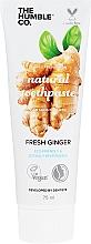Парфюмерия и Козметика Натурална антисептична паста за зъби с джинджифил - The Humble Co. Natural Toothpaste Fresh Ginger