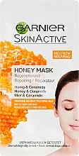 Парфюми, Парфюмерия, козметика Възстановяваща маска за лице с мед - Garnier SkinActive Honey Mask