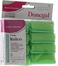 Парфюмерия и Козметика Ролки за коса 25 мм, 8 бр. - Donegal Sponge Curlers