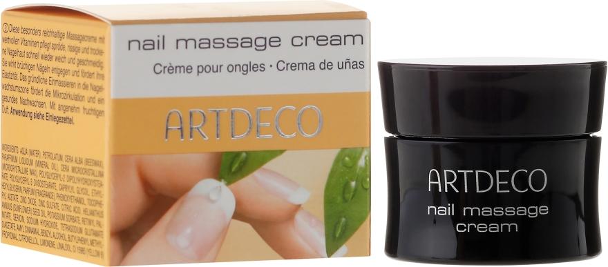 Масажен крем за нокти с напукани и сухи кутикули - Artdeco Nail Massage Cream — снимка N1