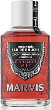 Парфюмерия и Козметика Антибактериална вода за уста с канела и мента - Marvis Concentrate Cinnamon Mint Mouthwash