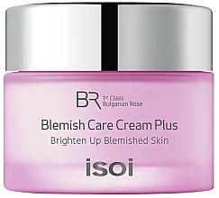 Парфюмерия и Козметика Крем за пигментирана и склонна към акне кожа - Isoi Bulgarian Rose Blemish Care Cream Plus