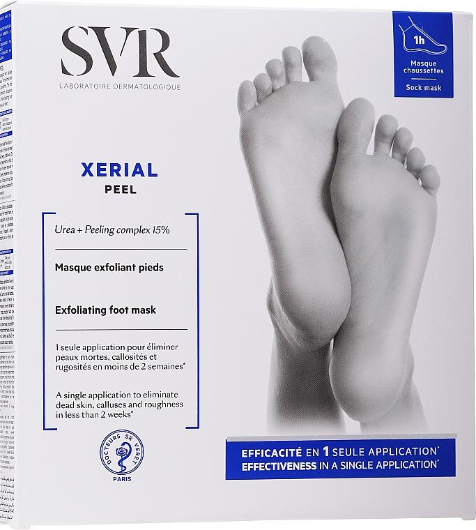 Ексфолираща маска за крака - SVR Xerial Peel Exfoliating Foot Mask