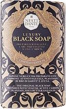"Парфюми, Парфюмерия, козметика Сапун ""Луксозно черно"" - Nesti Dante Luxury Black Soap"