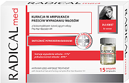 Парфюмерия и Козметика Комплекс ампули против косопад за жени - Radical Med Anti Hair Loss Ampoule Treatment For Woman