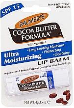 Парфюмерия и Козметика Балсам за устни с какаово масло и витамин Е - Palmer's Cocoa Butter Formula Lip Balm SPF 15