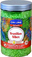 Парфюми, Парфюмерия, козметика Соли за вана - On Line Senses Bath Salt Brasilian Vibes