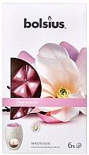 """Парфюмерия и Козметика Ароматен восък """"Магнолия"""" - Bolsius True Scents Magnolia"""