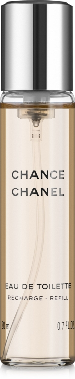 Chanel Chance - Тоалетна вода ( 3 бр. пълнители) — снимка N2