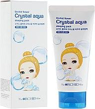 Парфюмерия и Козметика Овлажняващ нощен крем за лице - The Orchid Skin Orchid Flower Crystal Aqua Sleeping Pack