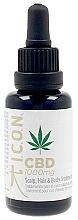 Парфюмерия и Козметика Масло за скалп и тяло - I.C.O.N. Organic CBD Oil 1000 mg Scalp Hair & Body Treatment