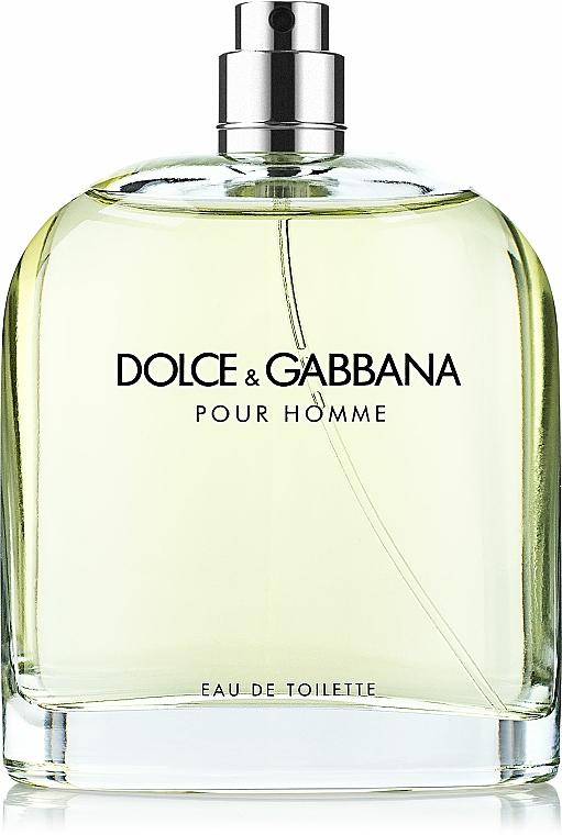 Dolce & Gabbana Pour Homme - Тоалетна вода (тестер без капачка)