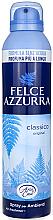Парфюмерия и Козметика Освежител за въздух - Felce Azzurra Classic Talc Spray