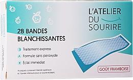 Парфюмерия и Козметика Ленти за избелване на зъби с вкус на малина - L'Atelier Du Sourire