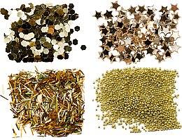 Парфюмерия и Козметика Комплект декорации за нокти - Peggy Sage Nail Glitter Mini Kit Or