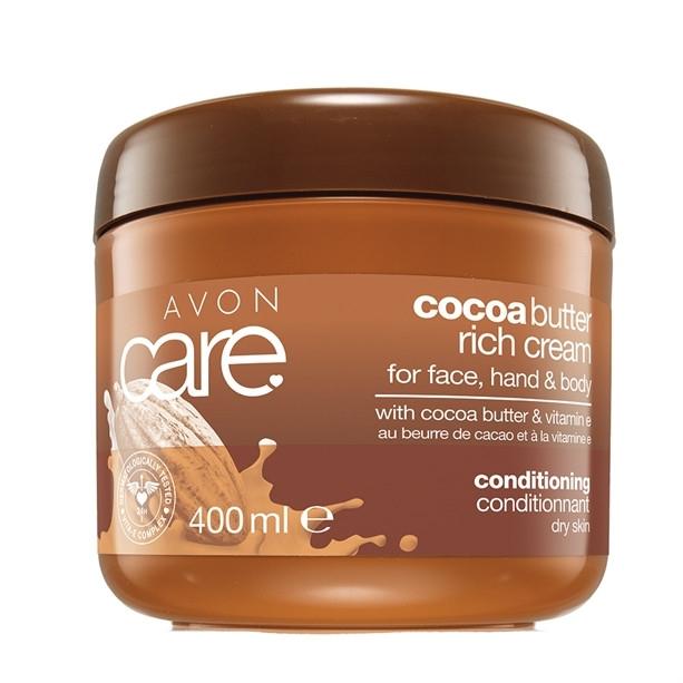 Универсален регенериращ крем с масло от какао и витамин Е - Avon