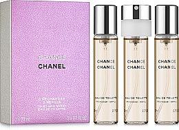 Chanel Chance - Тоалетна вода ( 3 бр. пълнители) — снимка N1