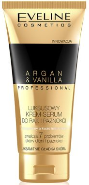 Крем серум за ръце и нокти - Eveline Cosmetics Spa Professional Argan&Vanilla — снимка N1